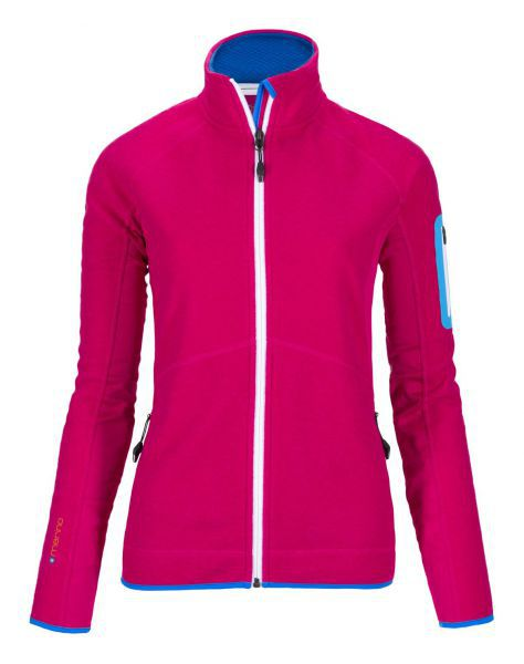 MERINO TEC-FLEECE JACKET WOMEN