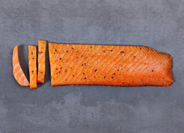 »Shishimi-Togarashi« finest IKARIMI-Salmon-Loin