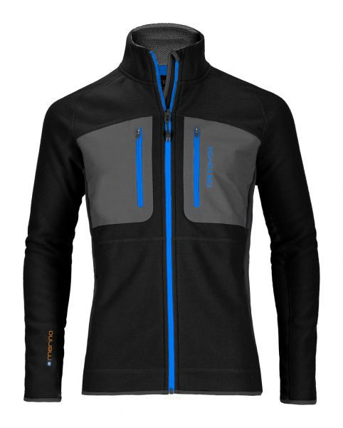 MERINO TEC-FLEECE JACKET MEN