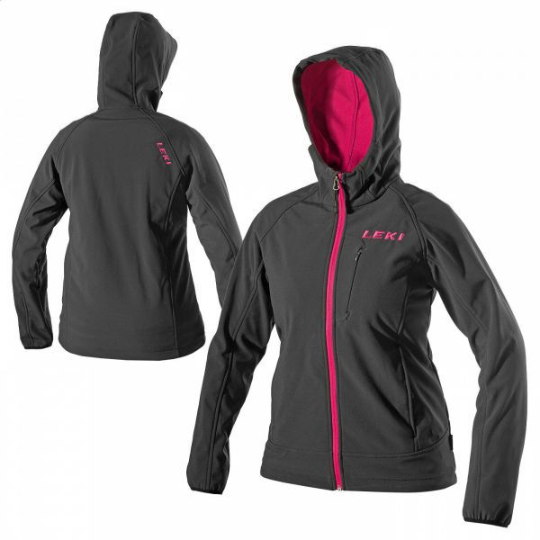 SOFTSHELL JACKET HOODED WOMEN