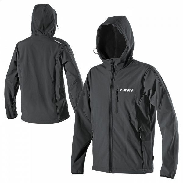SOFTSHELL JACKET HOODED MEN